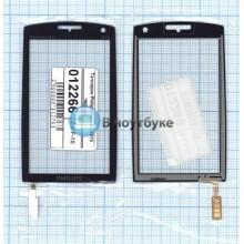 Сенсорное стекло (тачскрин) Philips Xenium X815 черное