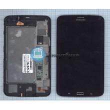 Модуль (матрица + тачскрин ) Samsung Galaxy Tab 3 7.0 SM-T211 с передней панелью коричневый