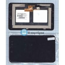 Модуль (матрица + тачскрин) Alcatel OneTouch Pop 7 P310 3G черный с рамкой