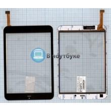 Сенсорное стекло (тачскрин) F-WGJ78051-V1 черный