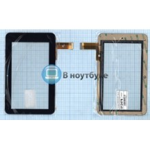 Сенсорное стекло (тачскрин) 0599-V02-0927 черное