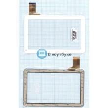 Сенсорное стекло (тачскрин) FPC-TP090005(98VB)-00 белый
