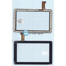 Сенсорное стекло (тачскрин) CZY6366A01-FPC черный
