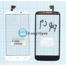 Сенсорное стекло (тачскрин) Alcatel POP C9 7047D белый