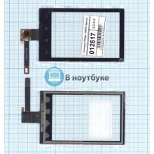 Сенсорное стекло (тачскрин) Philips Xenium W626 черное