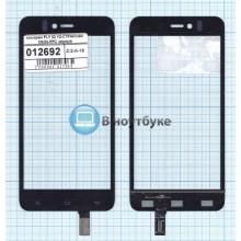 Сенсорное стекло (тачскрин) FLY IQ YZ-CTP467(GN C620)-FPC черный