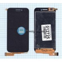Модуль (матрица + тачскрин) Huawei Honor U8860 черный