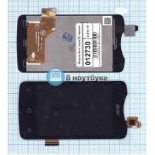 Модуль (матрица+тачскрин) Acer Liquid Z3 черный