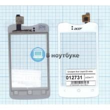 Сенсорное стекло (тачскрин) Acer Liquid Z3 white