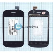Сенсорное стекло (тачскрин) FLY IQ235 Uno черный