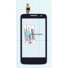 Сенсорное стекло (тачскрин) Alcatel OneTouch M'Pop 5020D черный
