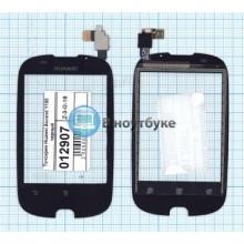 Сенсорное стекло (тачскрин) Huawei Ascend Y100 черный