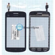 Сенсорное стекло (тачскрин) Huawei Ascend Y310 черный