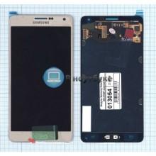 Модуль (матрица + тачскрин) Samsung Galaxy A7 SM-A700F золотой