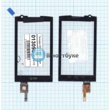 Сенсорное стекло (тачскрин) GT-I6410 M1 черное
