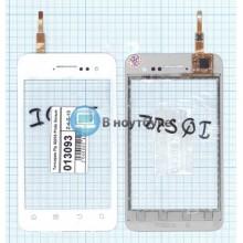 Сенсорное стекло (тачскрин) Fly IQ255 Pride белый