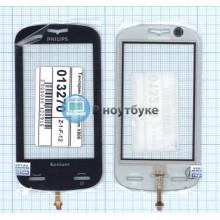 Сенсорное стекло (тачскрин) Philips Xenium X800 черный