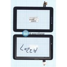 Сенсорное стекло (тачскрин) Lenovo IdeaTab A2207 черный