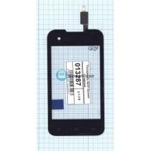 Сенсорное стекло (тачскрин) Fly IQ237 Dynamic черный