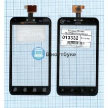 Сенсорное стекло (тачскрин) ZTE V807 Blade C YZ-CTP465-FPC-V1 черное