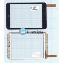 Сенсорное стекло (тачскрин) D-0736A3-PG-FPC черный