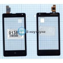 Сенсорное стекло (тачскрин) Microsoft Lumia 532 Dual Sim черный