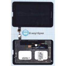 Модуль (матрица + тачскрин) Lenovo IdeaTab A3000 черный