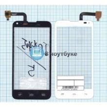 Сенсорное стекло (тачскрин) Fly IQ4415 белое
