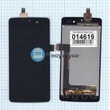Модуль (матрица + тачскрин) Highscreen Omega Q черный