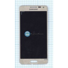 Модуль (матрица + тачскрин) Samsung Galaxy Alpha SM-G850F золото