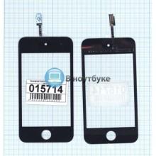 Сенсорное стекло (тачскрин) Apple iPod touch 4 черный