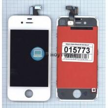 Модуль (матрица + тачскрин) Apple iPhone 4S AAA белый