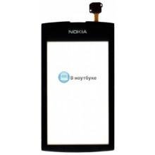 Сенсорное стекло (тачскрин) Nokia Asha 305 306 черное