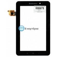 Сенсорное стекло (тачскрин) Lenovo IdeaPad A1 черное