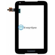 Сенсорное стекло (тачскрин) Lenovo IdeaTab A1000 черное