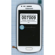 Модуль (матрица + тачскрин) full set Samsung Galaxy S3 III Mini I8190 белый