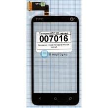 Сенсорное стекло (тачскрин) HTC 329 черный
