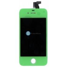 Модуль (матрица + тачскрин) Apple iPhone 4S зеленый без крепежа