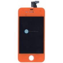 Модуль (матрица + тачскрин) Apple iPhone 4g оранжевый без крепежа