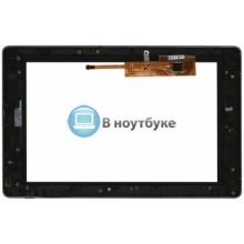 Сенсорное стекло (тачскрин) Lenovo IdeaTab K2 с рамкой