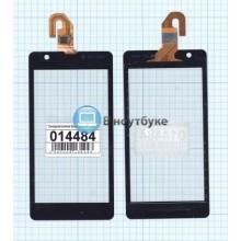 Сенсорное стекло (тачскрин) Sony Xperia ZR черный