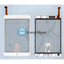 Сенсорное стекло (тачскрин) F-WGJ78051-V1 белый