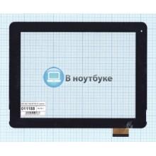 Сенсорное стекло (тачскрин) F-WGJ97104-V2 черный