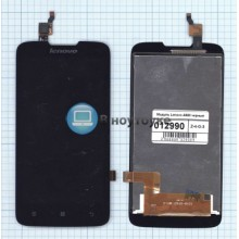 Модуль (матрица + тачскрин) Lenovo A680 черный