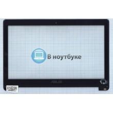 Сенсорное стекло (тачскрин) Asus TP500 черное c рамкой