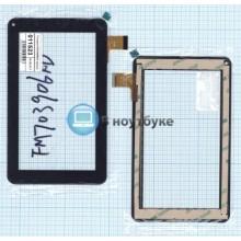 Сенсорное стекло (тачскрин) FM703906KD черный