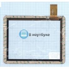 Сенсорное стекло (тачскрин) MT97002-V4D черный