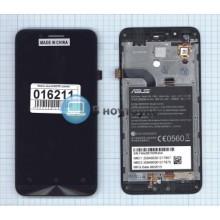 Модуль (матрица + тачскрин) Asus ZC500TG с рамкой черный