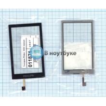 Сенсорное стекло (тачскрин) Philips Xenium X525 черное