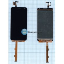 Модуль (матрица + тачскрин) Alcatel One Touch Idol 2 mini S 6036Y черный